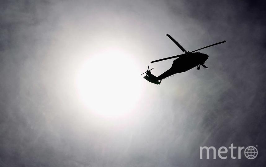 Вертолёт. Фото Getty