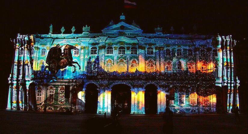 Фестиваль света в Петербурге - 2017. Фото https://www.instagram.com/belis2000/
