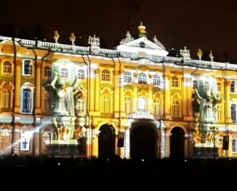 Фестиваль света в Петербурге - 2017.