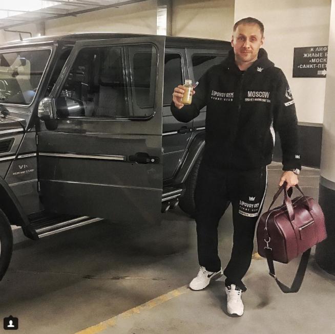 Александр Липовой. Фото Скриншот Instagram: @aleksandrlipovoy