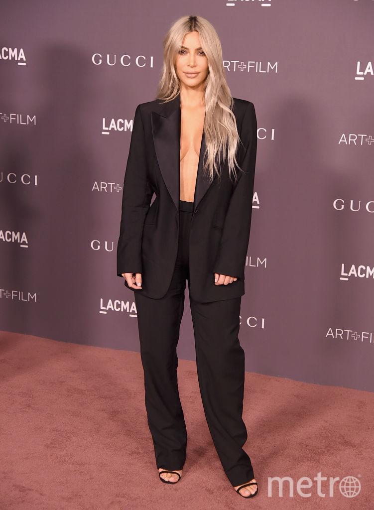 Ким Кардашьян на LACMA Art + Film Gala. Фото Getty