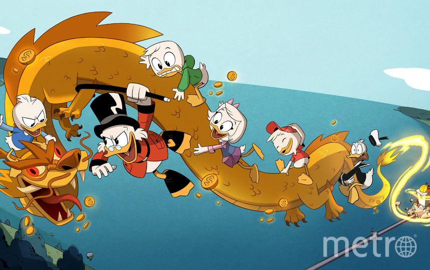 Кадр из мультсериала. Фото Предоставлено каналом Disney.