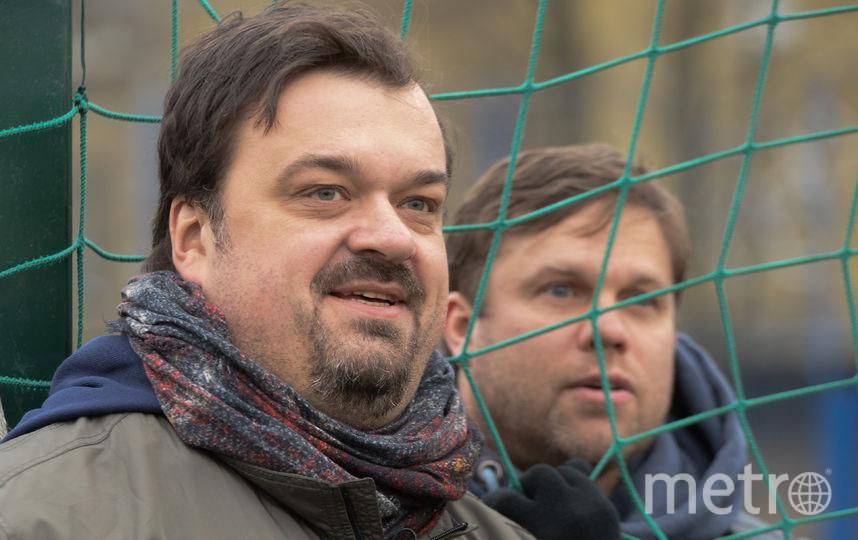 "Василий Уткин и Владислав Радимов. Фото Святослав Акимов, ""Metro"""