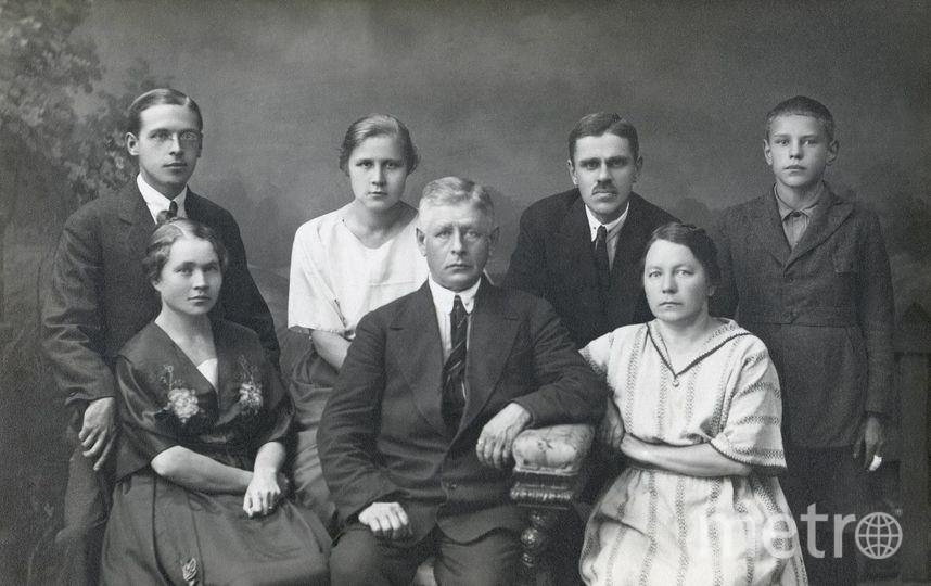 Семья Туомаса Хайконена. Фото Фото из архива дома-музея им. В.И. Ленина
