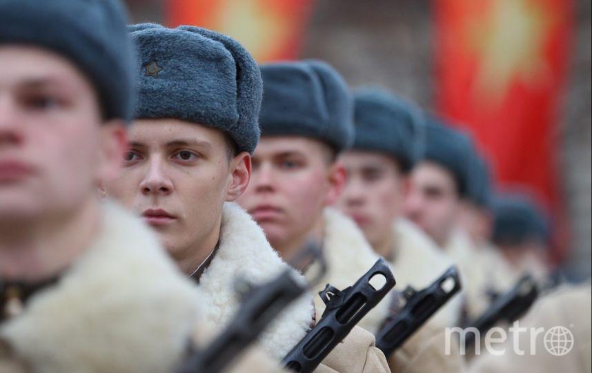 В Москве прошёл торжественный марш в честь годовщины Парада 1941 года. Фото Василий Кузьмичёнок