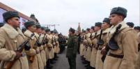 В Москве прошёл марш в честь годовщины парада 1941-го года: лучшие фото