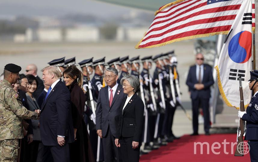 Мелания Трамп в Южной Корее. Фото Getty