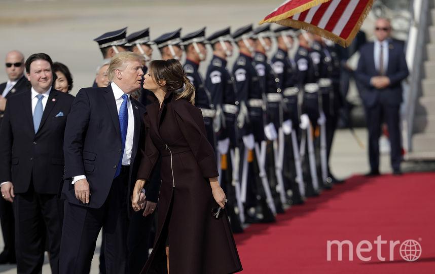 Дональд и Мелания Трамп в Южной Корее. Фото Getty