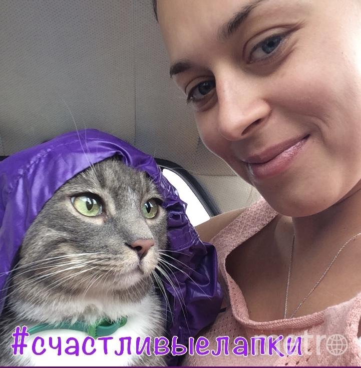 Селфи с котиком. Фото Анастасия Воронкова
