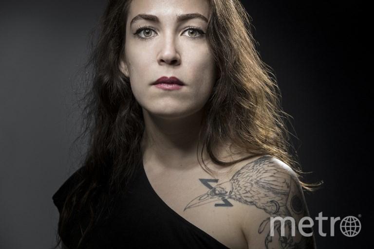 """32-летняя Лаура Левек, выжившая во время атаки на концертный зал """"Батаклан"""". Фото AFP"""