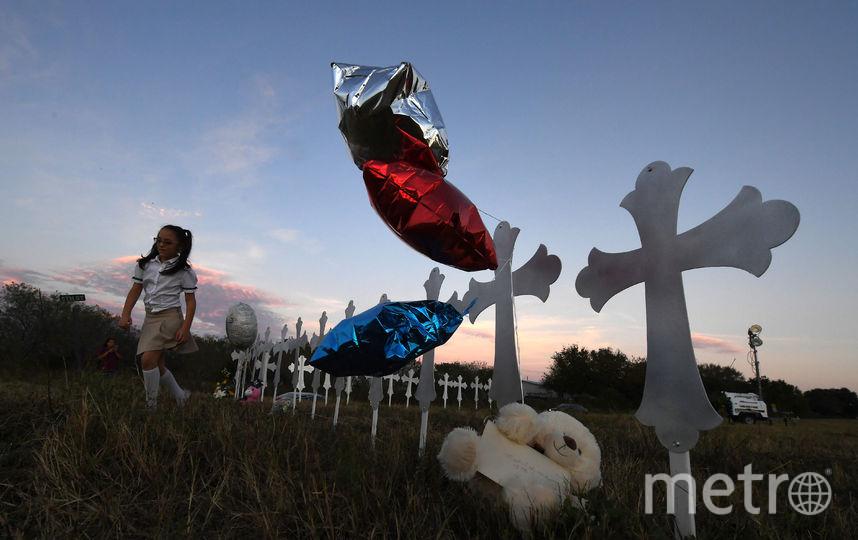 Сазерленд-Спрингс, Техас. Фото AFP