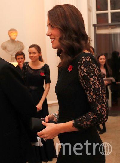 Кейт Миддлтон 7 ноября на гала-ужине. Фото Getty