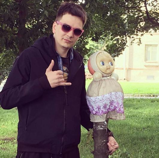 Рэпер Гнойный. Фото www.instagram.com/kpss_begemot_official
