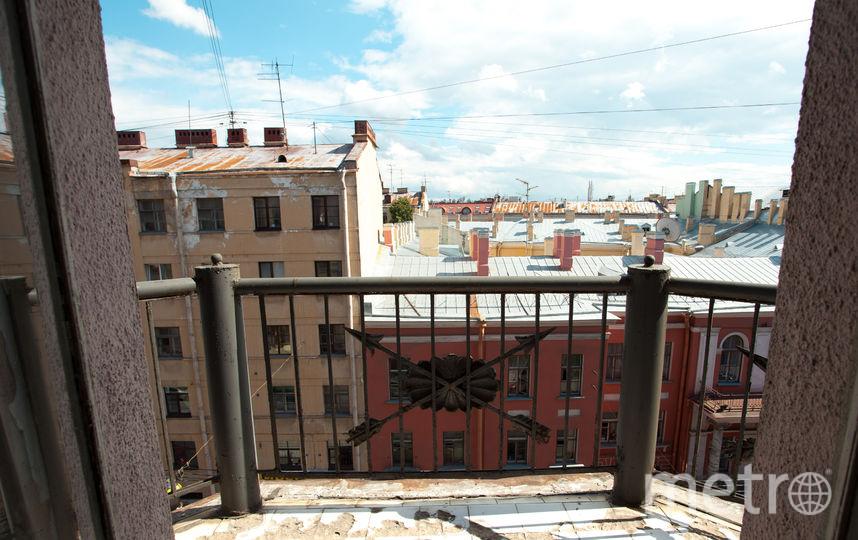 Балкон. Квартира на Миллионной, 25.