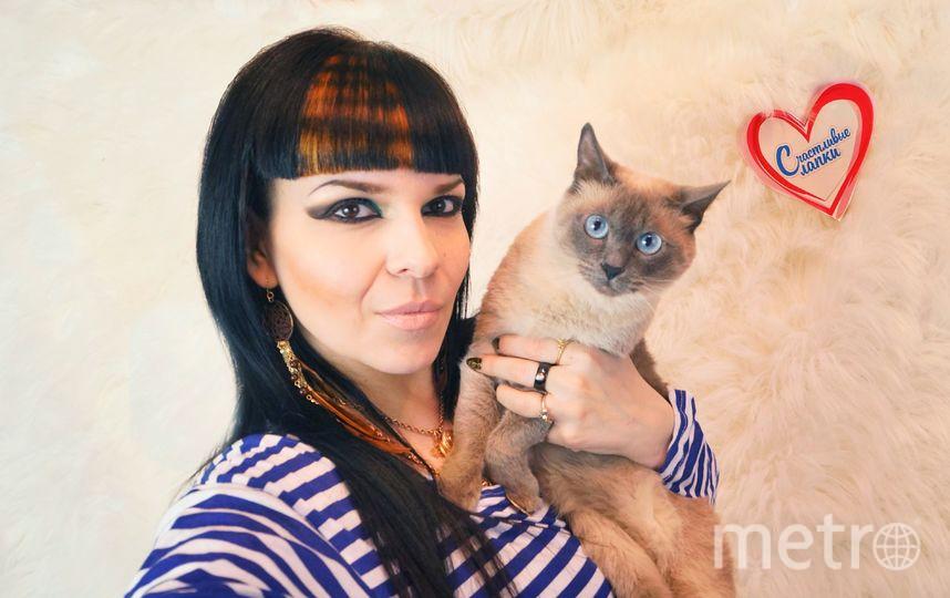Басипова Мария Халимовна и Кошка по имени Семерка.