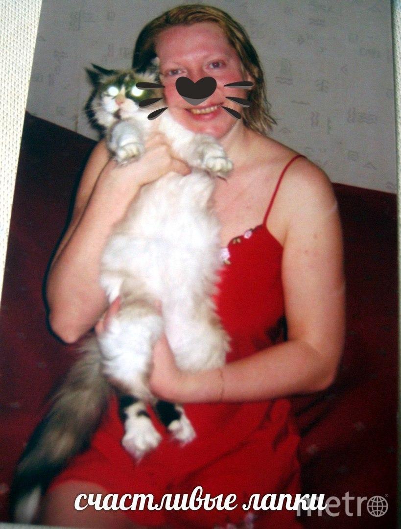 Ольга Лишняя и кошка Лиза.