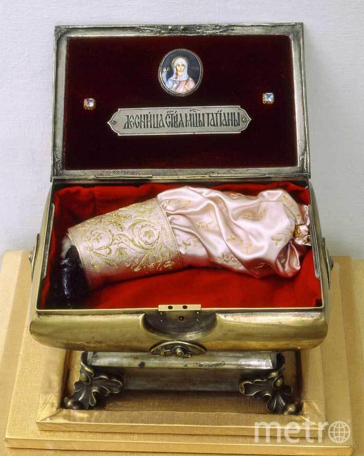 Мощи святой Татианы едут вПетербург