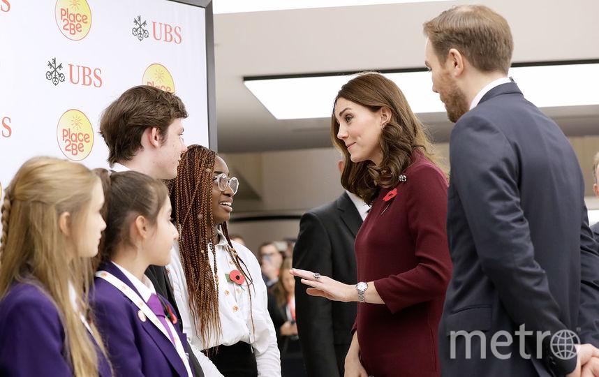 Герцогиня Кэтрин в Лондоне. Фото Getty