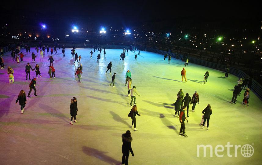В Петербурге откроется первый в новом сезоне открытый каток. Фото фото - предоставлено организаторами.