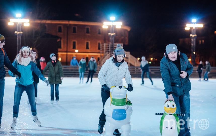 В Петербурге откроется первый в новом сезоне открытый каток.