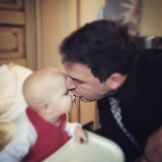 Максим Виторган с сыном Платоном. Фото www.instagram.com/xenia_sobchak