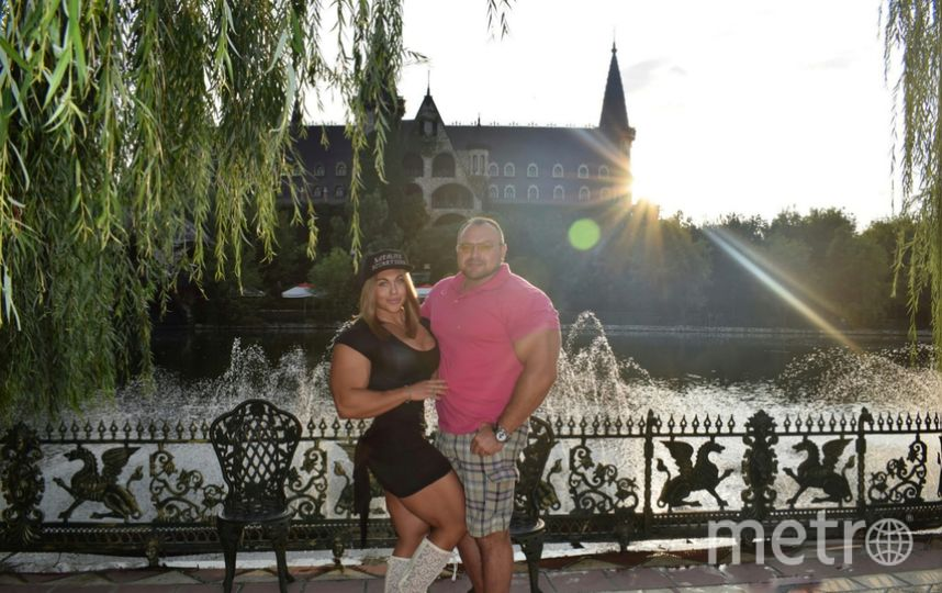Наталия Кузнецова с мужем Владиславом. Фото предоставлено Наталией Кузнецовой.