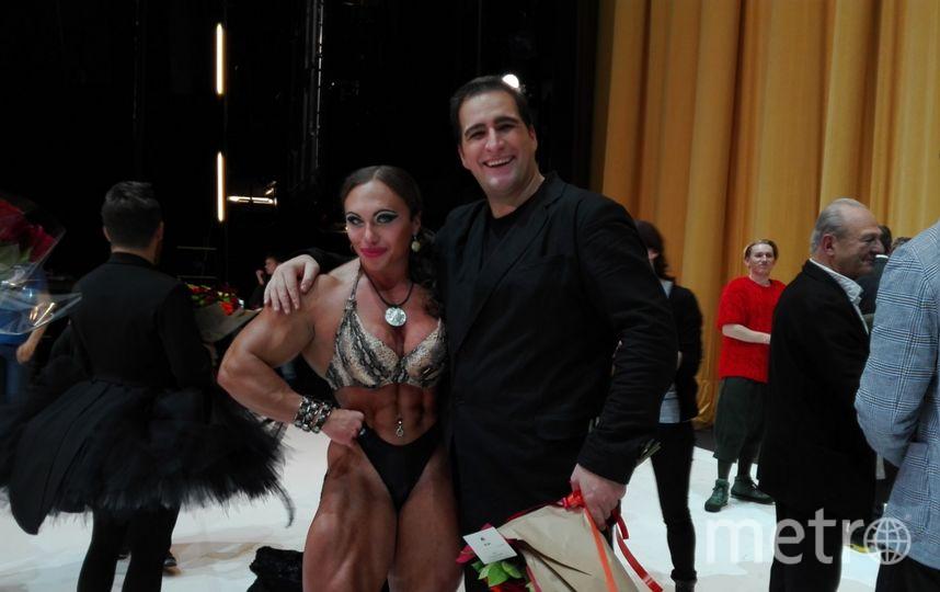 Наталия Кузнецова и певец Рикардо Масси. Фото предоставлено Наталией Кузнецовой.