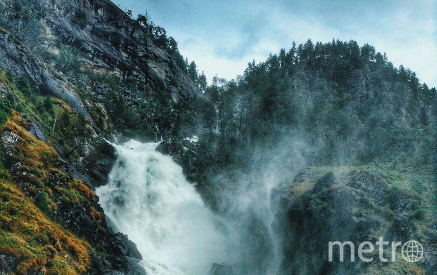 Водопад Лотефоссен. Фото предоставлены Викторией Бересневой.