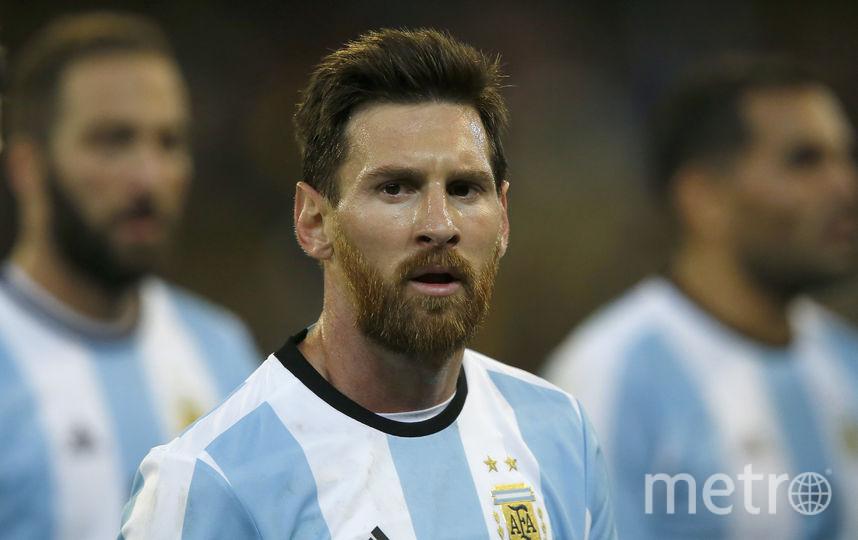 "Нападающий сборной Аргентины и ""Барселоны"" Лионель Месси. Фото Getty"