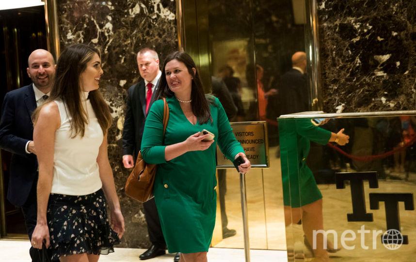 Внешность помощницы президента США стали обсуждать чаще, чем Меланию Трамп. Фото Getty