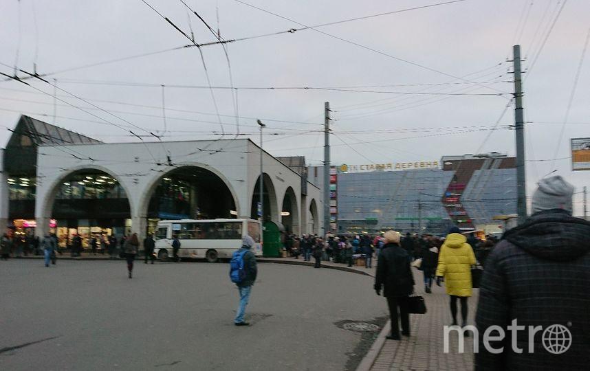 """Станцию метро """"Старая деревня"""" закрывали для проверки. Фото vk.com"""