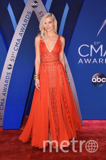 CMA Awards-2017. Карли Клосс. Фото Getty