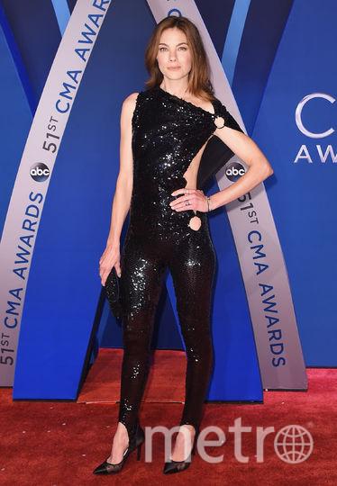 CMA Awards-2017. Мишель Монаган. Фото Getty