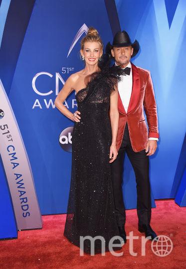 CMA Awards-2017. Фейт Хилл. Фото Getty