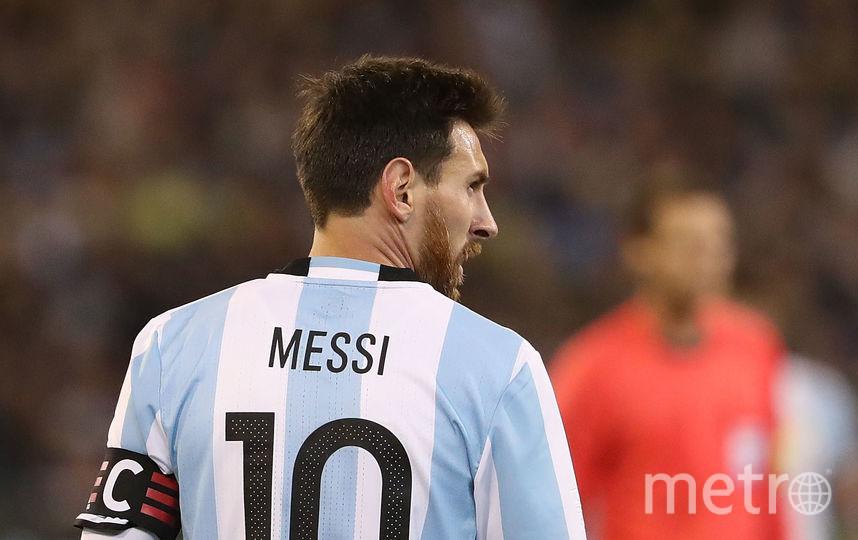 Нападающий сборной Аргентины Лионель Месси. Фото Getty