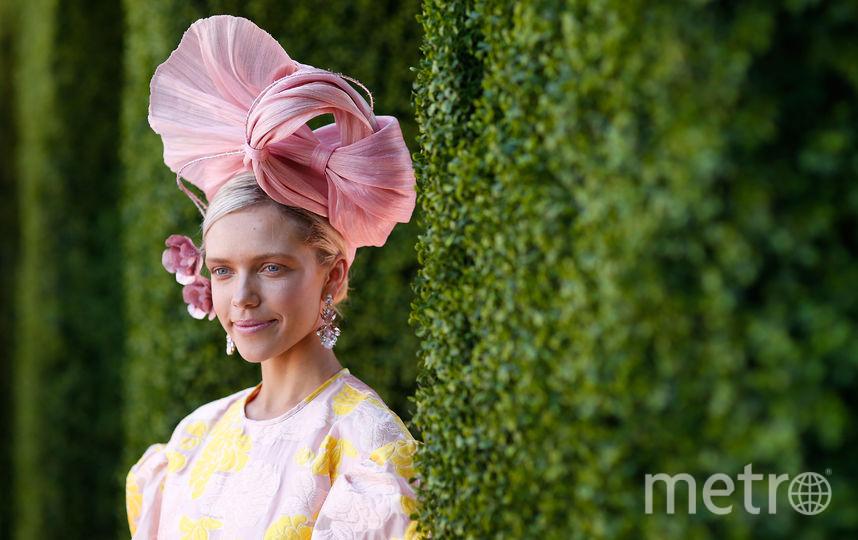 Вдова Элвиса Пресли поразила модных критиков необычным нарядом. Фото Getty