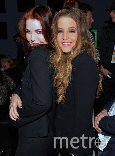 Присцилла и Лиза-Мария Пресли. Фото Getty