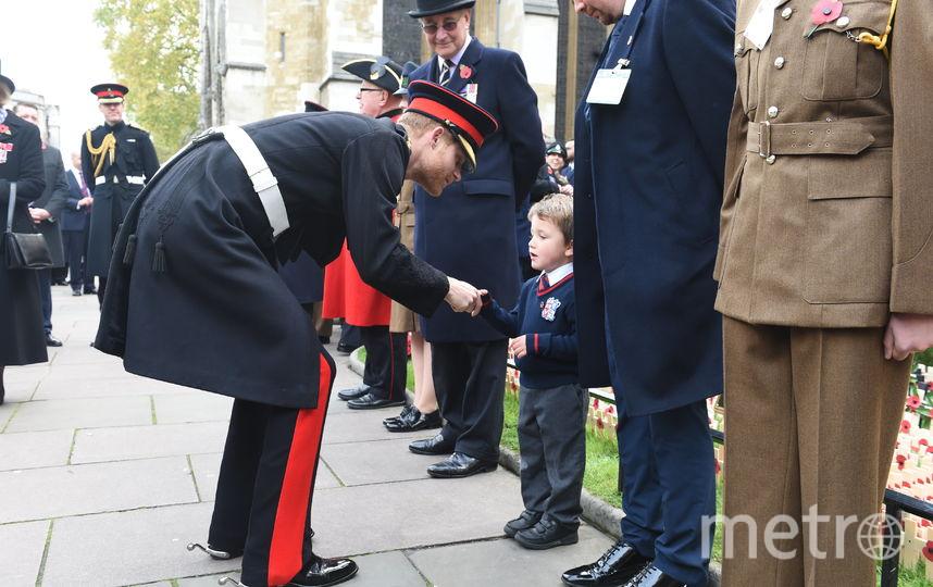 Принц Гарри почтил память павших солдат в Вестминстерском аббатстве. Фото Getty