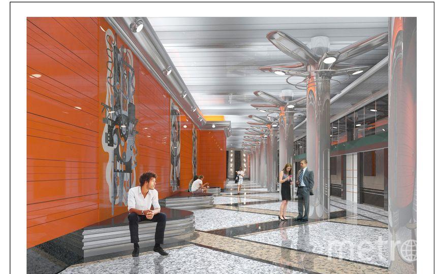"""Станция метро """"Беговая"""". Фото все фото- предсотавлены КРТИ."""