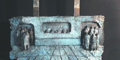 Москвич делает скульптуры о метро