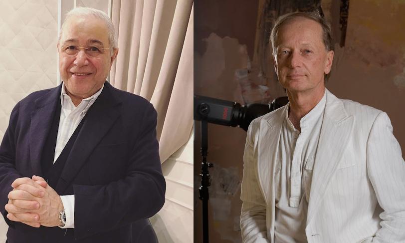 Евгений Петросян и Михаил Задорнов. Фото kinopoisk.ru