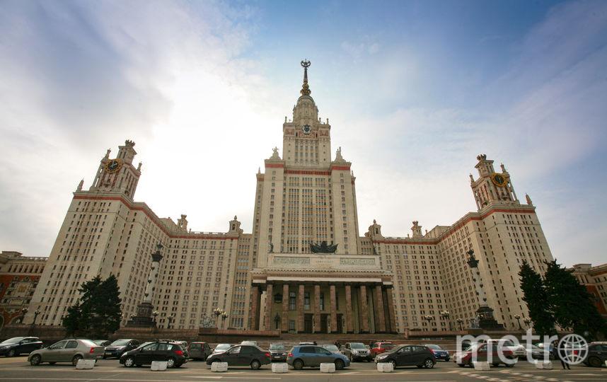 Главное здание МГУ. Фото Василий Кузьмичёнок