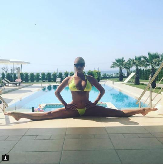 Анастасия Волочкова, архивное фото. Фото Скриншот Instagram/volochkova_art