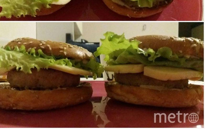 Домашние рыбные котлеты + кольца от Каравай = вкусные фишбургеры. Фото Екатерина Седова