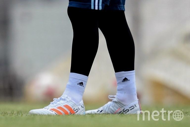 Тренировка сборной Аргентины в Москве. Матч Россия - Аргентина состоится 11.11.2018. Фото AFP