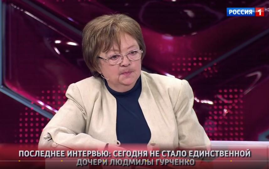 Дочь Людмилы Гурченко - Мария Королева. Фото Скриншот Youtube
