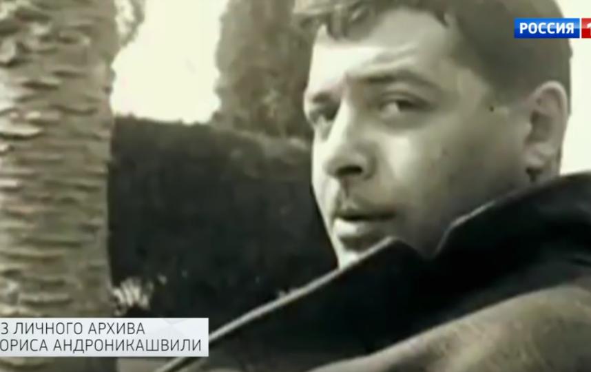 Борис Андроникашвили. Фото Скриншот Youtube