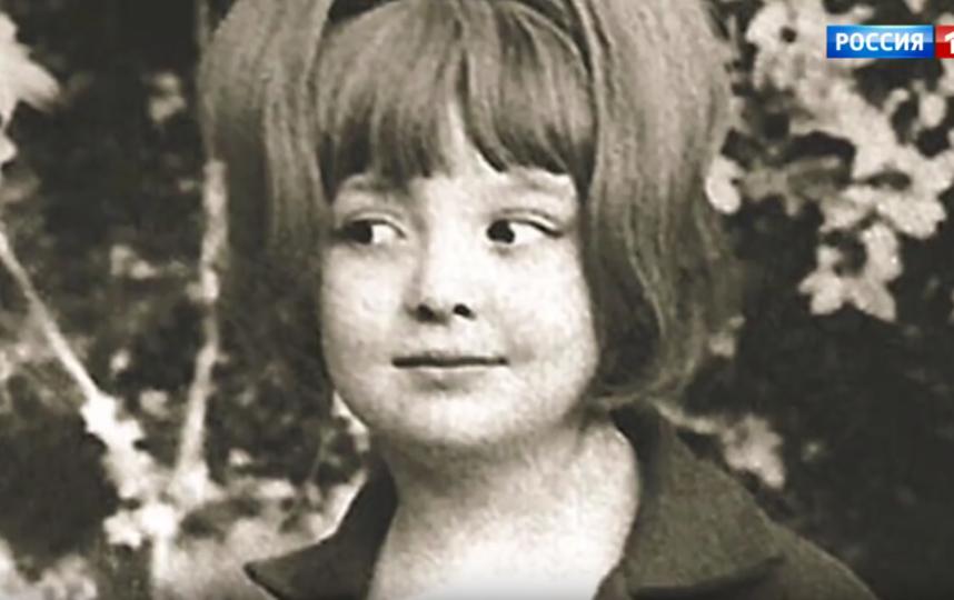 Мария Королева в детстве. Фото Скриншот Youtube