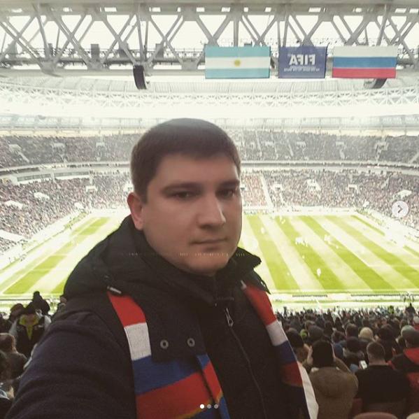 Скриншот instagram.com/dvskvortsov1985/?hl=ru.