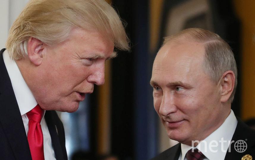 Путин пообещал наказать виновных в отсутствии отдельной встречи с Трампом. Фото AFP
